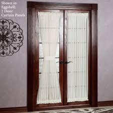 patio doors kitchen slidingr window treatments glass curtain rod