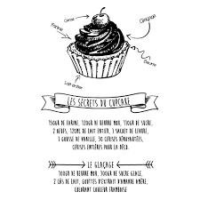 stickers recette cuisine sticker cuisine gâteau cupcake
