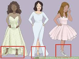 what to wear at wedding how to select shoes to wear with your wedding dress 10 steps