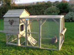 Rabbit Hutch With Run For Sale Pawhut Wooden Large Chicken Rabbit Hutch Cage House Poultry Coop