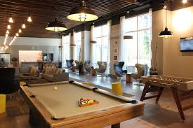 Pool Table Meeting Table Live An Environmentally Friendly Existence In This Chicago