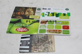 bulk gift cards bulk gift cards 5 pieces property room