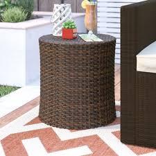 Barrel Side Table Mercury Row Mazzella Bluestar Barrel Side Table U0026 Reviews Wayfair