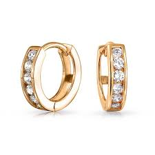 gold hoop earings gold vermeil small cz huggie sterling silver hoop earrings