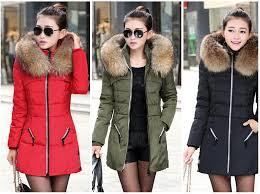 Ladies Duvet Coats Best New 2017 Winter Women Jacket Coat Thicken Slim Female Fur
