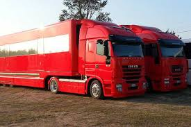 ferrari truck these ferrari f1 trailers a new home