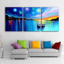 Home Decoration Painting by Online Get Cheap Oil Paintings Boats Aliexpress Com Alibaba Group