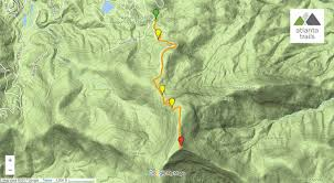 Green Circle Trail Map Rabun Bald Hiking The Bartram Trail From Beegum Gap