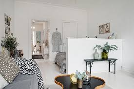 Scandinavian Apartment Makes Clever Use Of Small Space - Design small spaces apartment