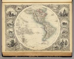 Map Of The Western Hemisphere Western Hemisphere David Rumsey Historical Map Collection
