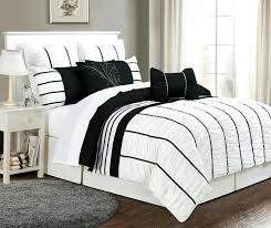 Striped Comforter Bedding Collection On Black White Stripe Comforter Twin S U2013 Euro