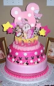 minnie mouse 1st birthday baby minnie mouse 1st birthday cake topper adianezh on artfire