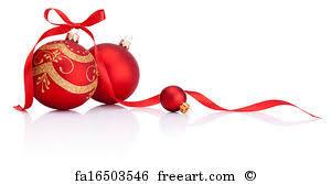 christmas ribbon free print of christmas decoration balls with ribbon bow
