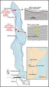 Lake Victoria Map Lake Malawi Drilling Project