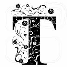 monogram letter t 26 best alphabet pretty blk wht images on monogram