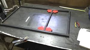 Welding Table Plans by Building Custom Welding Cart Welding Table Part 1 Youtube