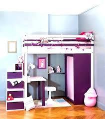 chambre fille lit superposé tente lit mezzanine habillage lit superpose ides