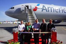 speciaal delivery flight event american airlines boeing 777 300er