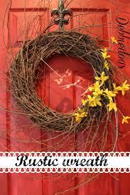 10 diy garden wreath ideas debbiedoos