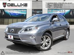 lexus rx 350 luxury package used lexus rx 350 for sale barrie on cargurus
