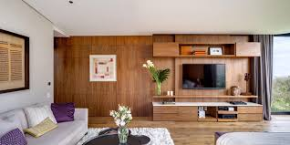 wood paneling walls furniture charming glass wall house paired modern wood panel