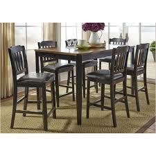 284 cd 7gts liberty furniture 7 piece gathering table set