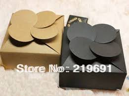 wedding gift cost aliexpress buy wholesale 78x78x35mm black or kraft paper box