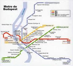 Budapest Metro Map by Index Of Interrail Mapas
