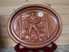 wood carving wall for sale cowboy wall decor clock wood wall home western wall clock