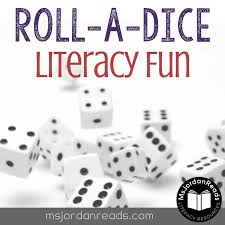 printable question dice roll a dice literacy fun msjordanreads