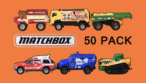 land rover matchbox matchbox vehicles 50 pack tow truck cars ambulance land rover
