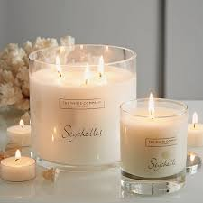 seychelles signature candle candles the white company