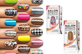 i tried it sally hansen real nail polish strips college fashion
