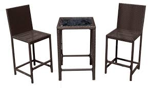 Bar Height Bistro Table Appealing Bar Height Bistro Table Outdoor 3 Bar Height Patio