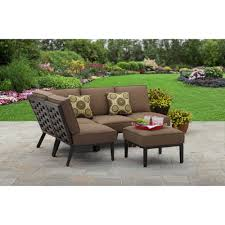 Better Homes And Gardens Outdoor Furniture Cushions by Better Homes And Gardens Hampton Road 5 Piece Cushion Sectional