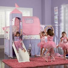 Princess Castle Bunk Bed Powell Princess Castle Size Tent Bunk Bed W Slide Beyond