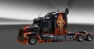 kenworth w700 western star 5700 v 1 truck american truck simulator mod ats mod