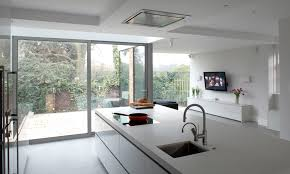 kitchen interior inspirational modern purple square high island