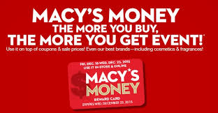 macy s money returns for december 2015 spend less shop more