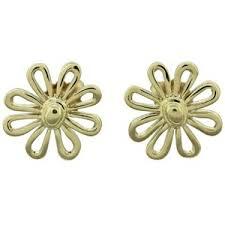 flower stud earrings flower stud earrings shop for flower stud earrings on polyvore