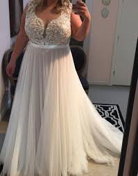 wedding dresses plus size lace appliqued soft tulle wedding dresses plus size summer