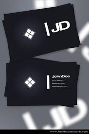 Free Business Card Designs Templates Free Black Designer Business Card Templates Designed On A Black