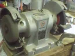 Old Bench Grinder How To Fix Electric Motors Repair Info In Text Below This Clip