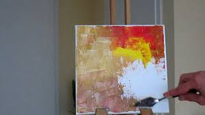 tanja bell abstract painting trees part 1 tutorial palette knife you