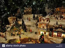 mini lights for christmas village lofty mini christmas village houses chritsmas decor