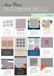 46 best kalendare psd images on pinterest calendar templates