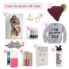 under 25 gifts for your bestie the sass room