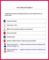 sample instruction manual template printable sample instruction