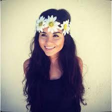 sunflower headband flower crown headband coachella festival acces