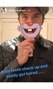 David At The Dentist Meme - david beckham s sweetest dad moments hello canada hello canada